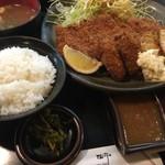 71190444 - ロースミックス定食(¥1450)