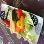 kitchen 比呂 - 夏野菜ピクルス