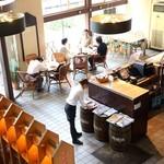 ハーバーカフェ - 禁煙席①