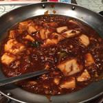 秋 - 麻婆豆腐680円