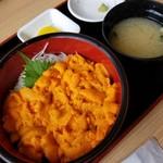 みさき - 赤ばふん生うに丼 4950円