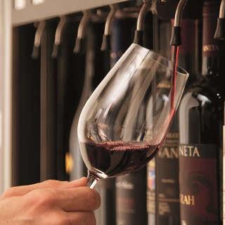 エノマティック・ワインサーバーを使用した至極の1杯