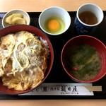 総本家 朝日屋 - カツ丼(1,080円)