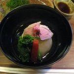 魚菜いとう - 鴨と新玉葱蒸し