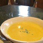ビストロむく  - スープ(かぼちゃのポタージュ)