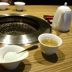 712635 - デザートとコーン茶