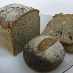 なまけもののパン屋 - ライ麦80%入りハーフパンその他
