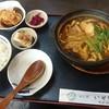 めん処 いせ徳 - 料理写真:カレー煮込うどん定食 1,130円