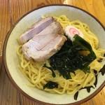 福間ラーメンろくでなし - つけ麺(中盛)750円