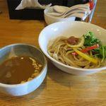 らーめん心繋 - エビつけ麺(850円)