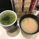 71202502 - お茶と味噌汁