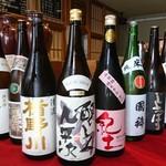 四季料理みしな - ドリンク写真:醸し人九平次、楯野川、紀土入荷致しました。