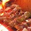 ニク マッスル スグル - 料理写真:本格炭火焼串焼き