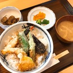 食のうおぬま 大前や - 料理写真:天丼(並)(850円)