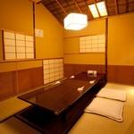 よし寿司 - 4~8名様掘りごたつ席 接待や婦人会に最適