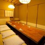 よし寿司 - 10~12名様席 会社の部署宴会や、友人との集まり、ご家族との会食に