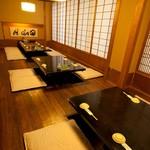 よし寿司 - 落ち着いた店内でごゆっくりと… 最大32名様個室席もご用意!!