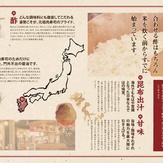 全国44店舗「元祖肉寿司のこだわり」
