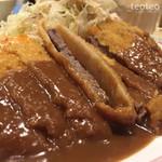 洋食屋 双平 - ビフカツ定食¥1200