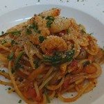 Dining Bar Faith - エビのトマトパスタ