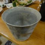 イマドキ食堂・居酒屋 こすもす - 芋焼酎のお湯割り