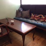 ティールーム ココ - このソファも最高です、何度か使いましたが、一人ではもったいなくて・・・(2017.8.8)