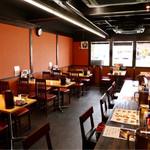 天ぷら かき揚げ 新次郎 - 広めのくつろげる空間