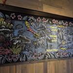 Bali Bali バーベQ - チョーク画2