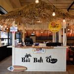 Bali Bali バーベQ - バリのコテージをイメージしたフロント