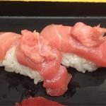 板前寿司 江戸 - まぐろ握りのカマトロ