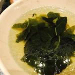 ベトナム料理 インドシナ - モロヘイヤのスープ