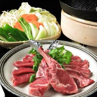 新鮮なラム肉をお召し上がりください