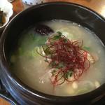 民家カフェurichip - 参鶏湯