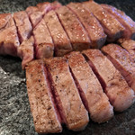 鉄板焼 煖 - 料理写真:お肉!