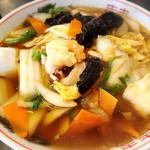 71215911 - 広東麺 800円。素材の味が引き出された素朴でおいしい一杯です。