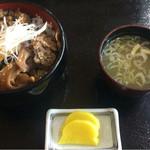 ペッタンくん - 料理写真:まいたけ丼 620円