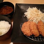 Tonkatsukewaike - ひれ一口とんかつ膳