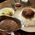 ボテロ - 料理写真:【2017/8】ハンバーグステーキカレー(全景)