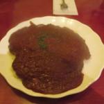 71218644 - マドラス特製ジャワカレー。こんな辛い食べ物は経験があまりないです...