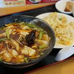 中華料理 味祥 - 料理写真:日替りランチ ピリ辛ラーメン