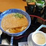 味心逆瀬川 - きつねうどんと手巻き寿司のセット