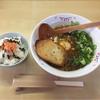 KATS´ - 料理写真:Aランチ ¥680 濃厚チーズカレーラーメン+¥200               鮭ごはん+¥20