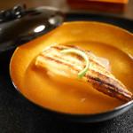 71223488 - 穴子と新生姜豆腐のお椀