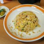 Jinroku - めちゃ優しいお味のチャーハン。玉子タップリでフワフワ。