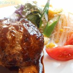 TRATTORIA Mocco - ハンバーグステーキ~デミグラスソース~
