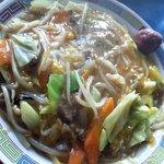 天領 - 中華丼:700円