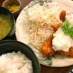 串揚げ 咲くら - チキン南蛮定食