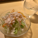 ヒマラヤ - ランチセットのサラダ