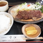 7123014 - ステーキ定食 2150円