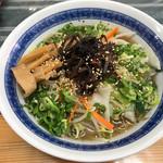 麒麟屋 - 料理写真:野菜ラーメン=680円